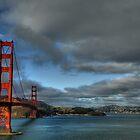 Golden Gate Bridge, HDR by Matt Erickson