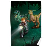Lego Jurassic World Poster