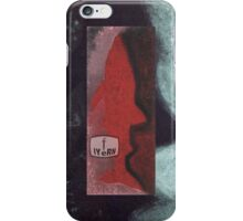RED SHARKY iPhone Case/Skin
