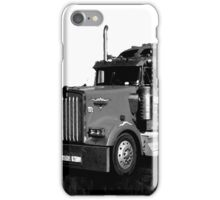 abstracted truck iPhone Case/Skin