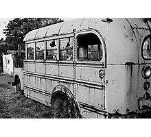 The Bus Photographic Print