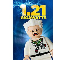 Lego Back To The Future Photographic Print