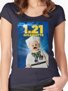 Lego Back To The Future Women's Fitted Scoop T-Shirt