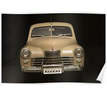 retro car front view  Poster