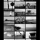 Oceanside Beach Collage by Donovan Olson