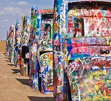 Cadillac Ranch by earthmover