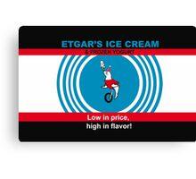 Etgar's Ice Cream Canvas Print