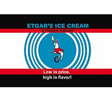 Etgar's Ice Cream Photographic Print