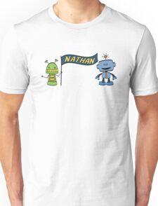 nathan w robots Unisex T-Shirt
