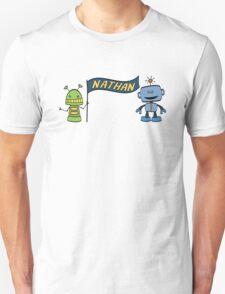 nathan w robots T-Shirt