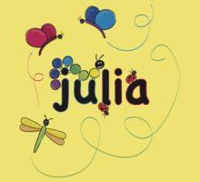 julia w bugs Kids Clothes