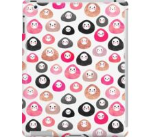 A bunch of happy blobs iPad Case/Skin
