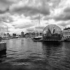Ancient Harbour, Genoa by acalax