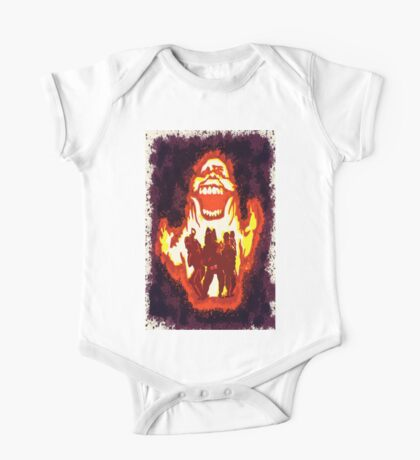 Pumpkin carving Ghost Busters One Piece - Short Sleeve
