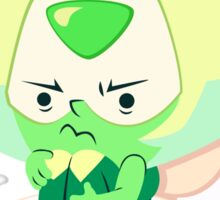 Tiny Little Toilet Peridot Sticker