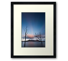 Lake Moogerah Twilight Framed Print