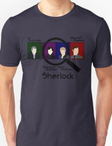 BBC Sherlock Squares Unisex T-Shirt