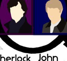 BBC Sherlock Squares Sticker