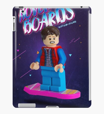Back To The Future  Lego Marty Mcfly iPad Case/Skin