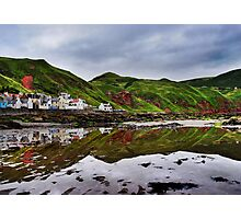 Gardenstown Reflection Photographic Print