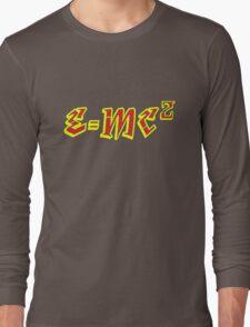 E=mc2 Long Sleeve T-Shirt