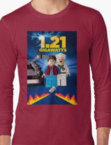 Lego Back To The Future -  Marty McFly Long Sleeve T-Shirt