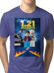 Lego Back To The Future -  Marty McFly Tri-blend T-Shirt