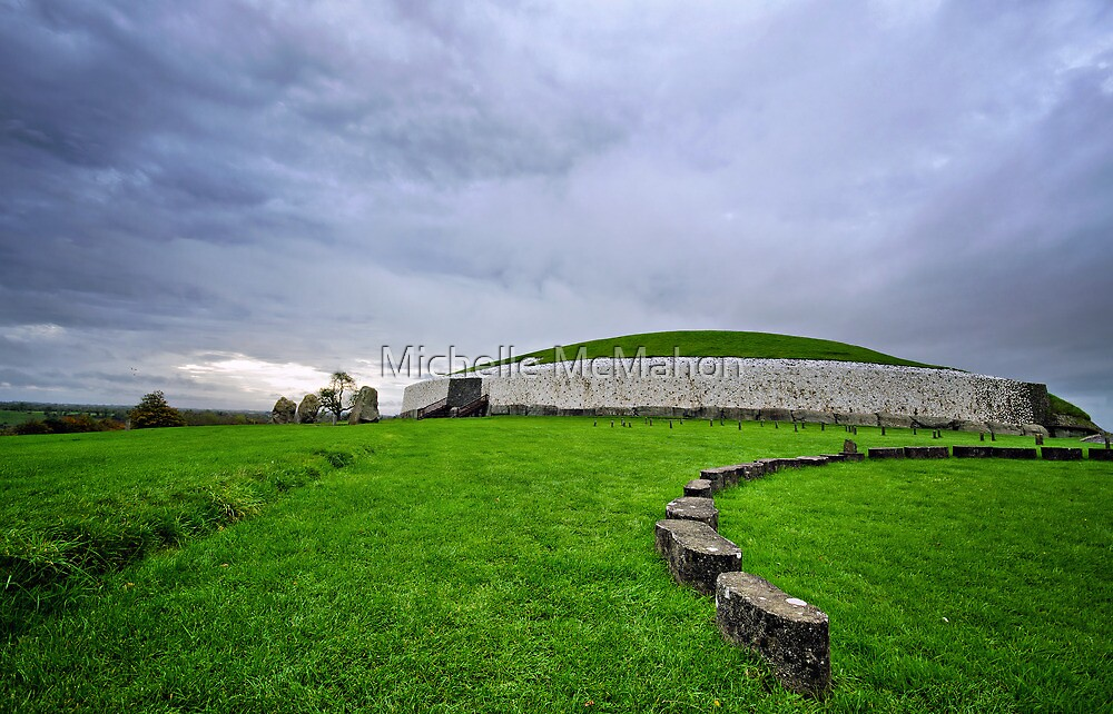 newgrange passage tomb by Michelle McMahon