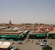 Djemaa El Fna, Marrakech by benstrong