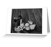WHO HID THE CHEESE (B/W) Greeting Card