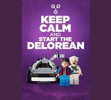 Keep Calm and start the delorean Unisex T-Shirt