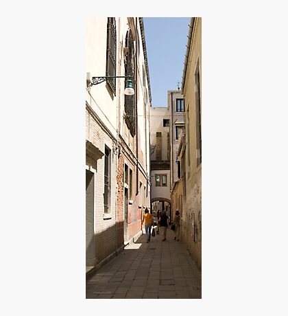 Back Street of Venice Photographic Print