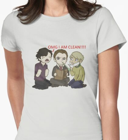 A Study In Canon Womens Fitted T-Shirt