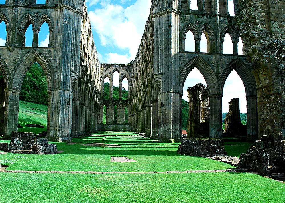 Rievaulx Abbey by Kate Fortune