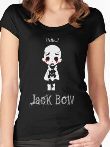 Jack Bow - Hello? Women's Fitted Scoop T-Shirt