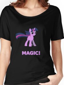 Magic Sparkle Women's Relaxed Fit T-Shirt