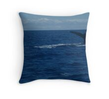 Hunting Dive Throw Pillow