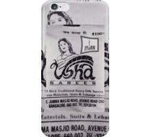 USHA SAREES iPhone Case/Skin