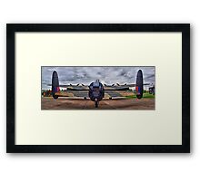 On The Tarmac - Just Jane - HDR Framed Print
