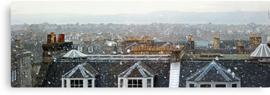 Edinburgh in the Snow by Tom Gomez