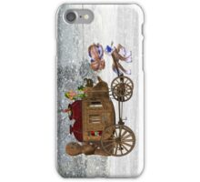 Saving Christmas .. iphone case iPhone Case/Skin