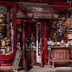 New York -  Store - Greenwich Village - Il Cantuccio  by Mike  Savad