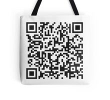QR Code Quote - Technology Has Exceeded Our Humanity Tote Bag