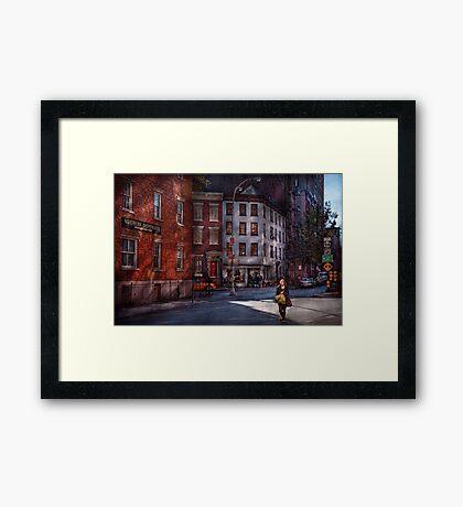 New York - City - Greenwich Village - Northern Dispensary  Framed Print
