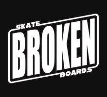 Star Wars Broken Logo Tshirt by BrokenSk8boards