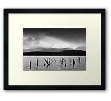 Lake Hauroko, New Zealand Framed Print