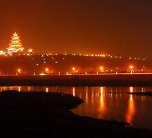 pagoda night by davvi