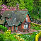 Gardener&#x27;s cottage by Tom Gomez