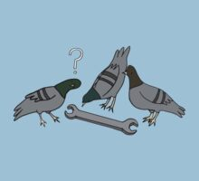 A spanner among the pigeons? Kids Tee