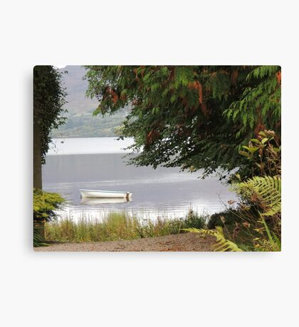 Donegal Peace  Lough Eske- Donegal Ireland Canvas Print